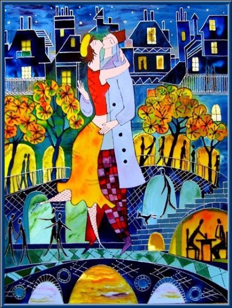 Quel était le baiser pris en photo par le célèbre artiste Robert Doisneau ? (image décorative)
