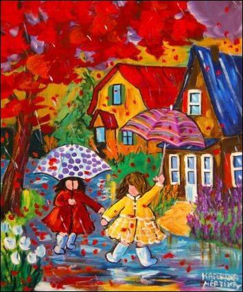 """Complétez les paroles de Barbara : """"Il pleut sur Nantes..."""""""