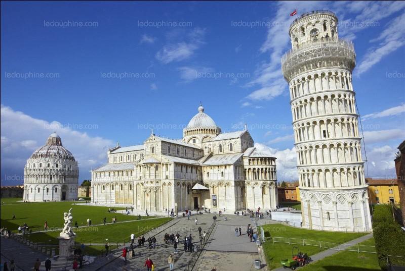 Pour commencer, dans quel pays est la tour de Pise ?