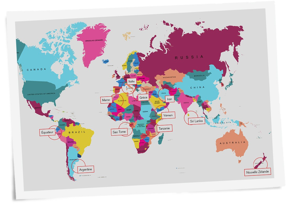 Connais-tu bien les pays ?