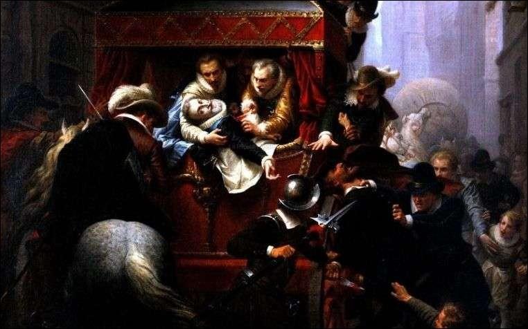Qui a assassiné Henri IV le Grand, le 14 mai 1610 à Paris, meurtre qui souleva des hypothèses de complot politique ?