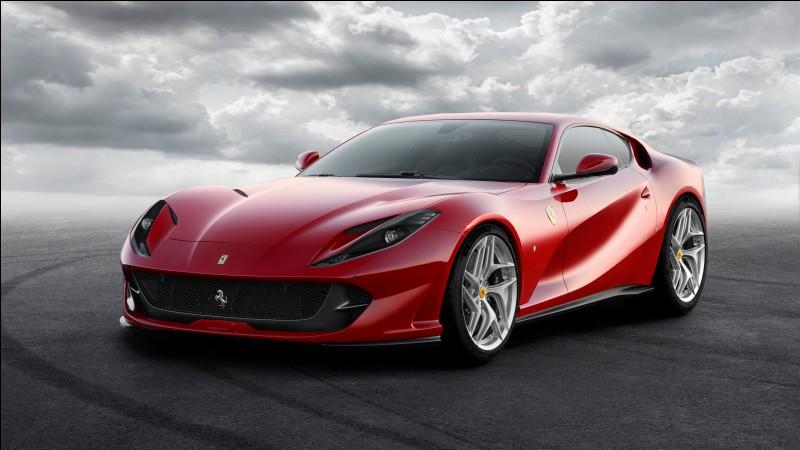 """Quelle est la couleur typique des voitures de la marque """"Ferrari"""" ?"""