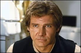 """L'acteur Harrison Ford joue le rôle de Han Solo dans la saga """"Star Wars""""."""