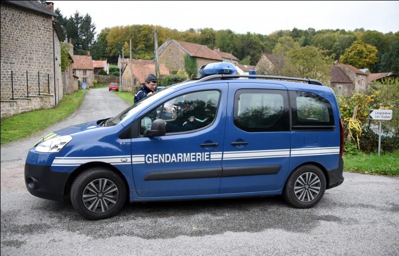 Quelle voiture est utilisée par la brigade rapide d'intervention de la Gendarmerie nationale ?