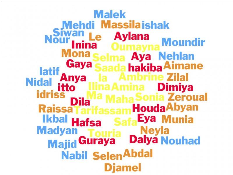 Si ton prénom commence par la lettre S, T, U ou V, quel prénom commence par la première lettre du tien ?