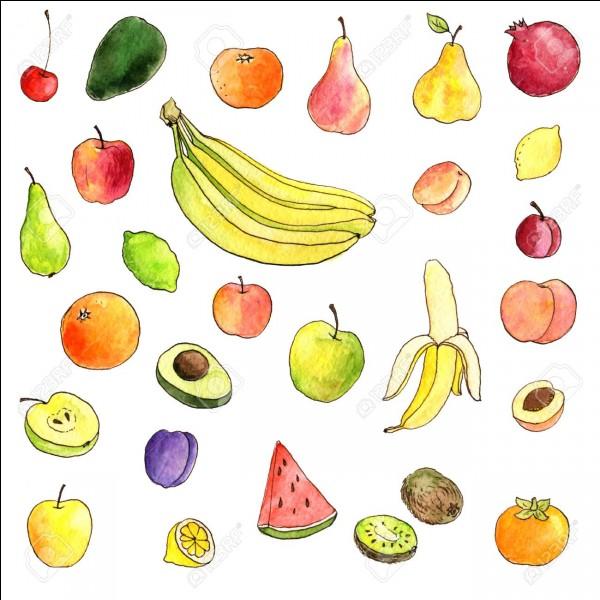 Si ton prénom commence par la lettre A, C, B, J, L, G ou Y, quel nom de fruit commence par la première lettre de ton prénom ?