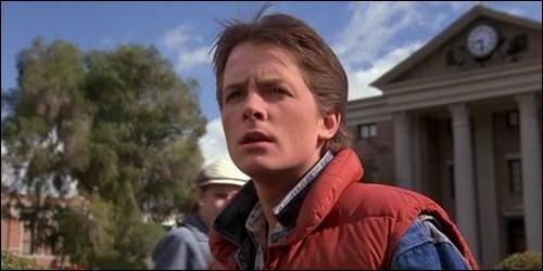 """Quel est le nom de Marty dans """"Retour vers le futur"""" ?"""