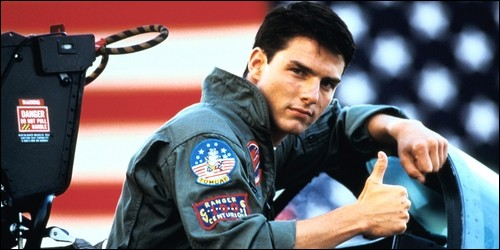 "Dans ""Top Gun"", comment surnomme-t-on Pete Mitchell ?"