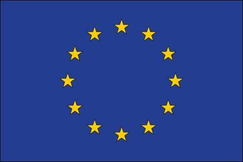 Ce drapeau est celui de l'Europe.