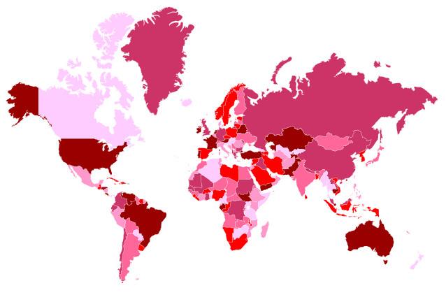 Erreurs de géographie courantes