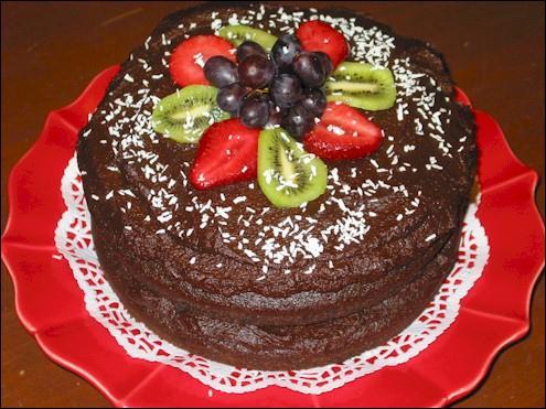 Commençons avec une question facile, à quoi est ce gâteau ?