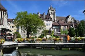 Laquelle de ces villes se situe dans le Jura ?