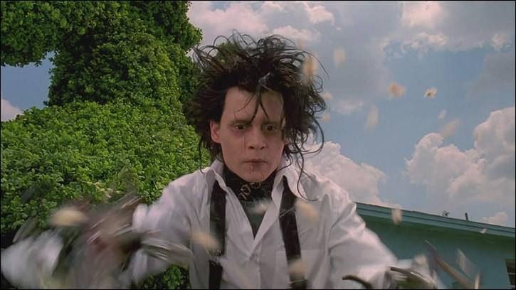 """Qui a réalisé le film """"Edward aux mains d'argent"""" (1990) avec Johnny Depp ?"""