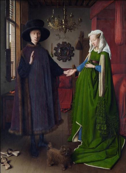 """Quel peintre primitif flamand de la Renaissance est l'auteur du tableau """"Les Époux Arnolfini"""" ?"""
