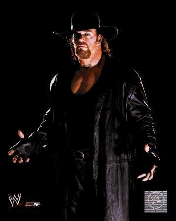 Et Undertaker commençant de 04/01/2010