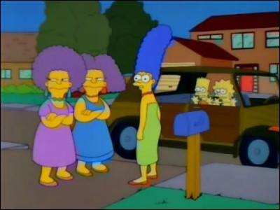 Quelle première dame des États-Unis porte le même nom de jeune fille que Marge et ses sœurs ?