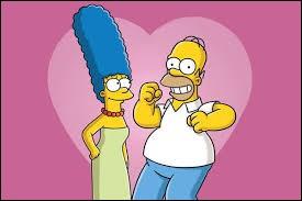 D'après une histoire racontée par Marge et Homer, à quel moment se sont-ils rencontrés pour la première fois sans qu'ils le sachent ?