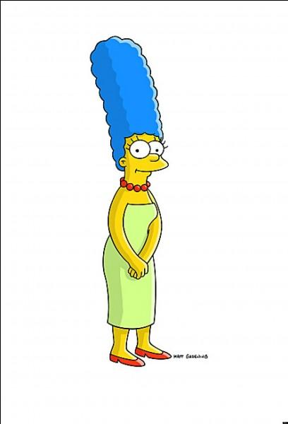 Lorsque Marge était amnésique à la suite d'un accident, de quel membre de sa famille ne se souvenait-elle plus ?