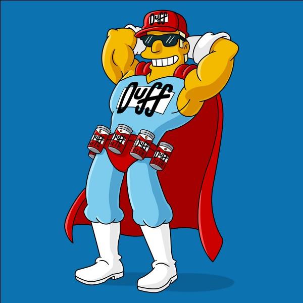 """Quel est le véritable prénom de Duffman la mascotte de la bière """"Duff"""" ?"""