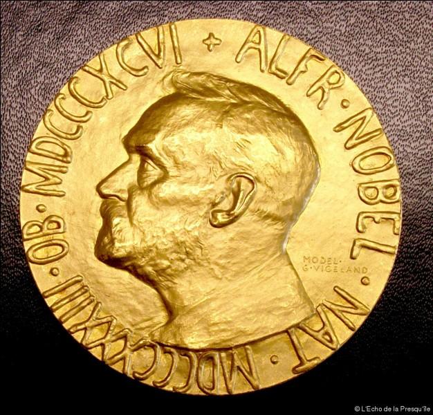 Qui a reçu le prix Nobel de la paix ?