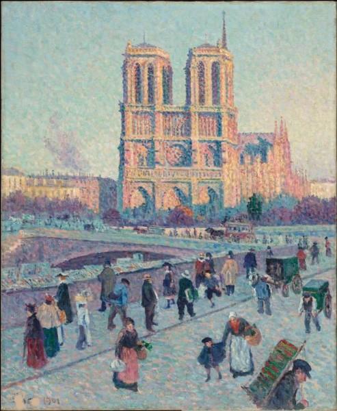 """Qui a peint """"Le Quai Saint-Michel et Notre-Dame"""" ?"""