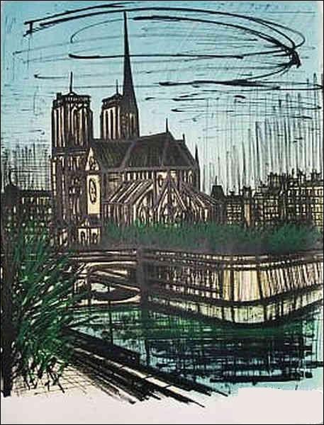 """À qui doit-on cette représentation de """"Notre-Dame de Paris"""" ?"""