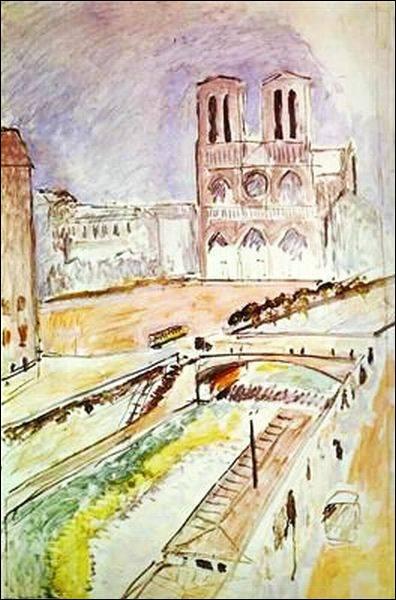 """Qui a peint """"Notre-Dame de Paris"""" ?"""
