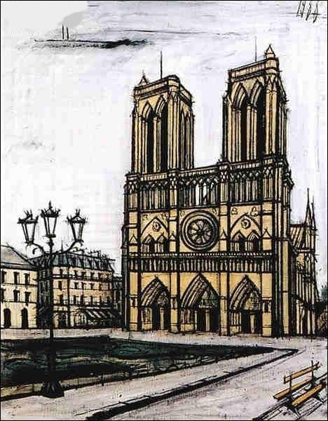 """Voici encore """"Notre-Dame"""" par le peintre :"""