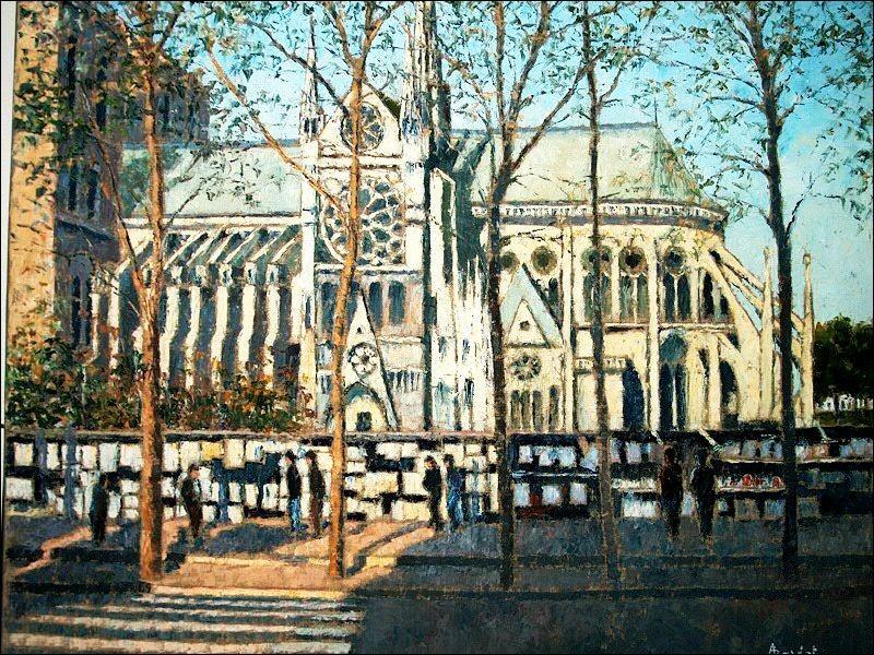 Notre-Dame de Paris vue par les peintres