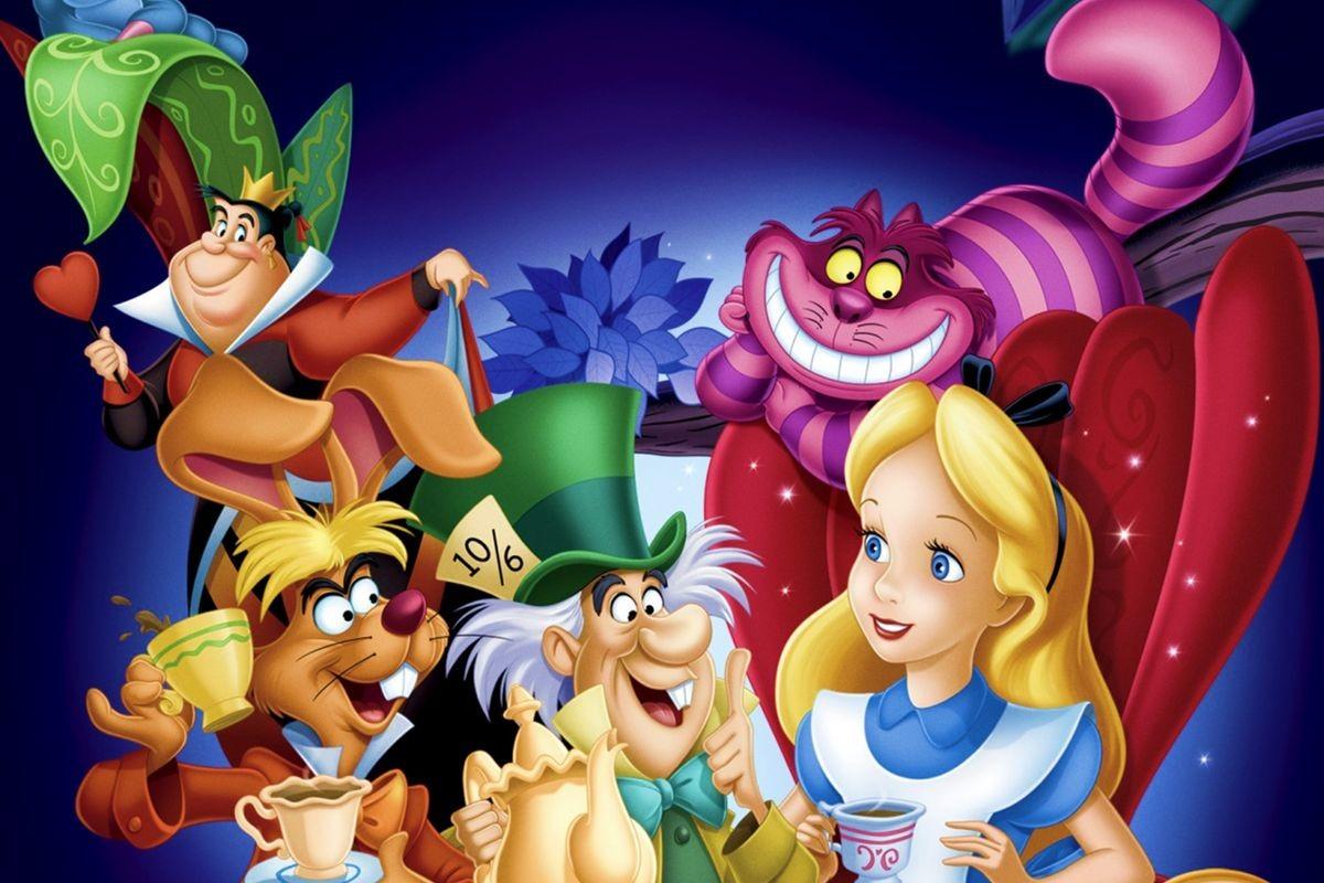 Les personnages d'Alice aux pays des Merveilles