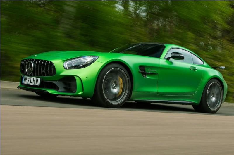 Quelle est la marque sportive de Mercedes ?
