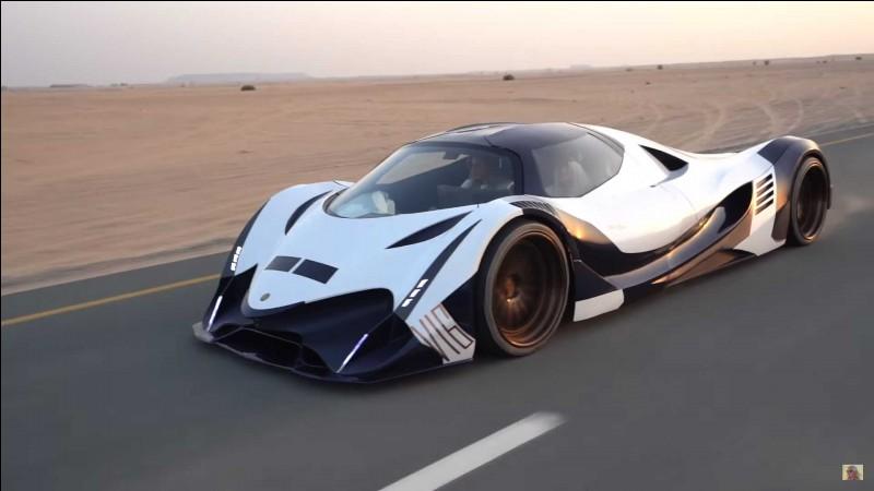 Quelle est la voiture la plus rapide du monde ?
