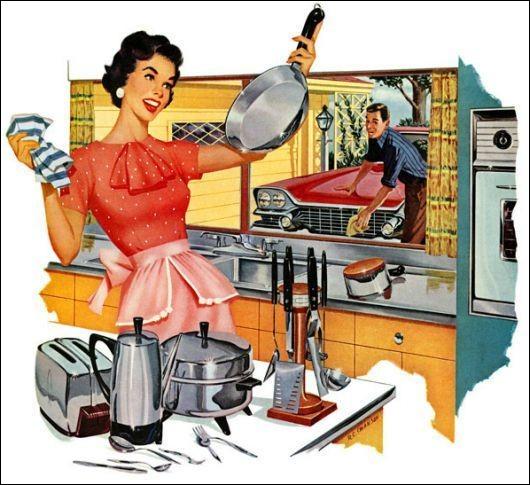 En 2010, combien de temps passent les femmes au travail domestique, en moyenne ?