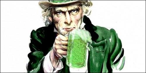 Quel jour de fête la bière coule-t-elle à flot, plus que d'ordinaire, à Dublin ?