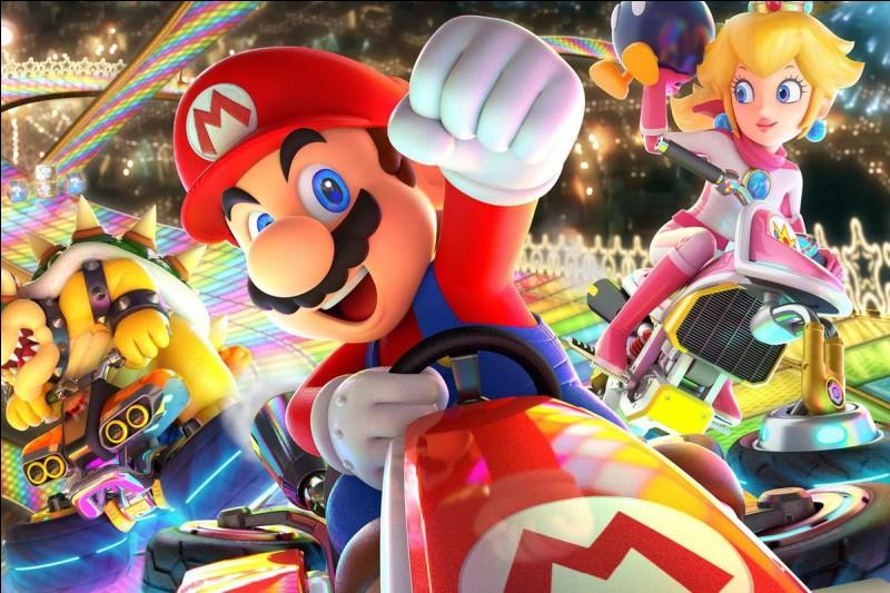 En quelle année Mario Kart a-t-il été créé ?