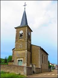 Nous sommes en Meurthe-et-Moselle devant l'église Saint-Epvre de Montenoy. Nous nous trouvons dans l'ancienne région ...