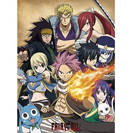 Fairy Tail - Les personnages (2)