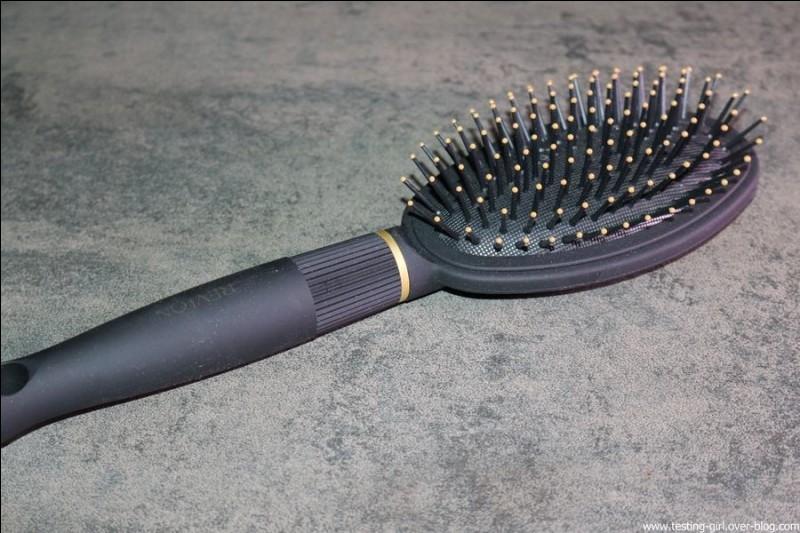 Combien y a-t-il de brosses à cheveux sur cette image ?