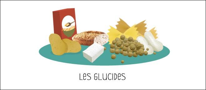 Quelle est la composition du glucide? (matière vivante qui nous construit et que nous consommons dans notre alimentation)