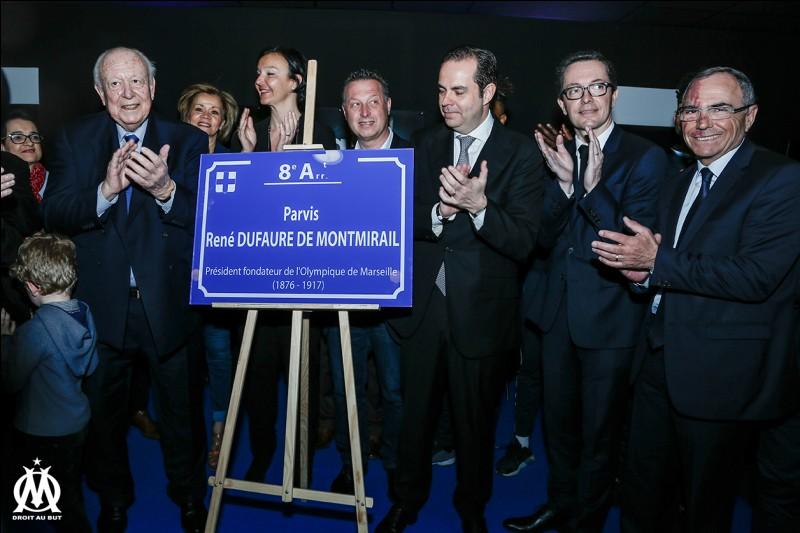 Qui a créé le club de l'Olympique de Marseille ?