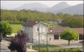 Commune Iséroise, Chantesse se situe dans l'ancienne région ...