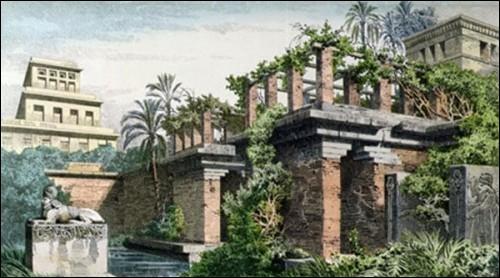 Pour la reine Amytis, originaire de Médie, dans quel royaume Nabuchodonosor a-t-il construit des jardins suspendus ?