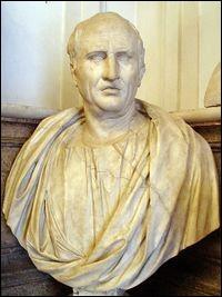 L'orateur romain Cicéron a été tué juste après s'être attiré les foudres de quel personnage ?