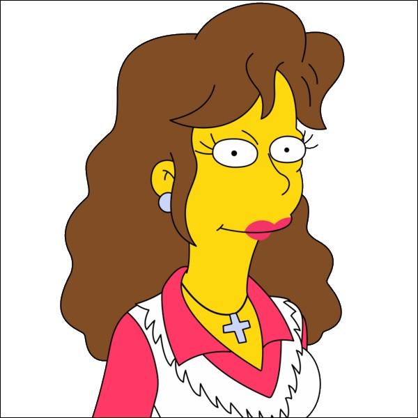 Pour quelle raison, Rachel Jordan est effrayée en se réveillant dans le lit de Ned Flanders ?