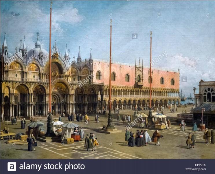 Canaletto est un peintre vénitien.