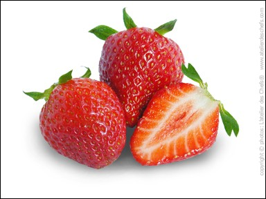 Combien y a-t-il de fraises sur cette image ?