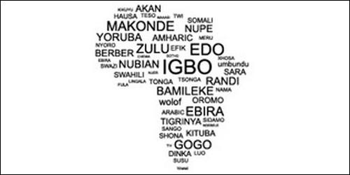 Quelle langue est d'origine africaine ?