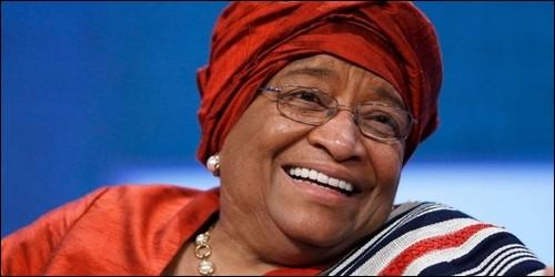 De quel pays Ellen Johnson Sirleaf, a été présidente du 16 janvier 2006 au 22 janvier 2018 ?