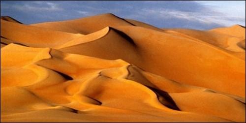 Le Ténéré est un désert :