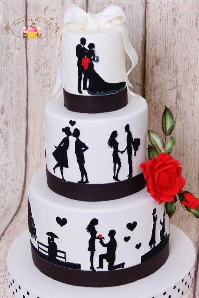 De quelle forme est le célèbre gâteau nommé Opéra ?